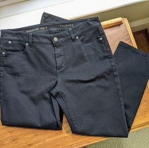 Talbots Signature Crop Jean Size 8